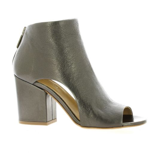 Nuova riviera Boots cuir laminé bronze