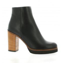 Giancarlo Boots cuir noir