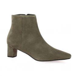 Elizabeth stuart Boots cuir velours taupe