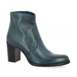 Spazio 08 Boots cuir bleu