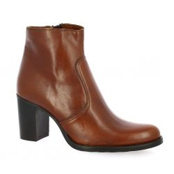 Spazio 08 Boots cuir cognac