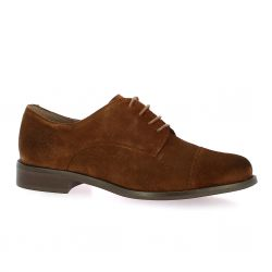 We do Derby cuir velours cognac