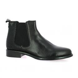 We do Boots cuir/serpent noir