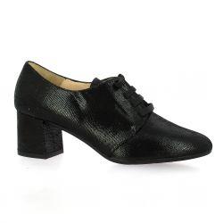 Brenda zaro Boots cuir laminé noir