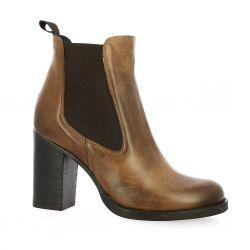 Nuova riviera Boots cuir cognac