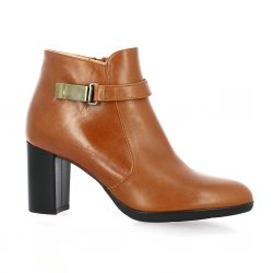Brenda zaro Boots cuir cognac