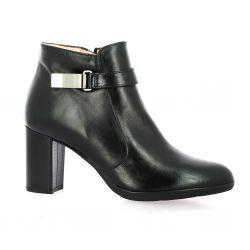 Brenda zaro Boots cuir noir