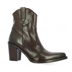 Emanuele Crasto Boots cuir marron