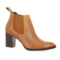Vidi studio Boots cuir cognac