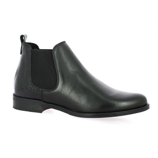 So send Boots cuir python noir
