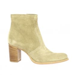 Spazio 08 Boots cuir velours sable