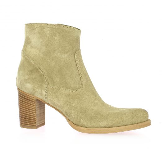 Spazio 08 Boots cuir velours sable