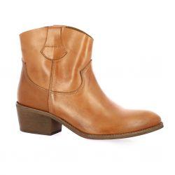 Exit Boots cuir cognac