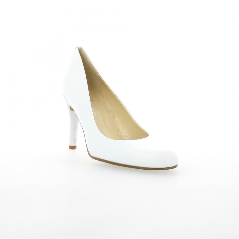 0cf943da6e9b Elizabeth stuart Escarpins cuir blanc · Elizabeth stuart Escarpins cuir  blanc ...