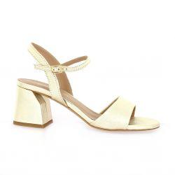 Fremilu Nu pieds cuir platine