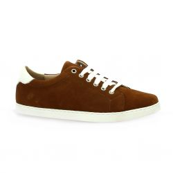 So send Derby cuir velours cognac
