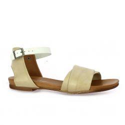 Creator Nu pieds cuir beige