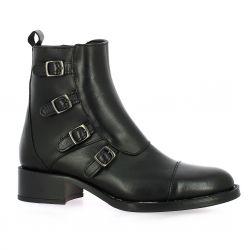Alpe Boots cuir noir
