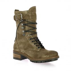 Paoyama Rangers cuir velours taupe