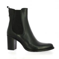 Spazio 08 Boots cuir noir