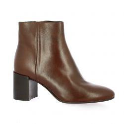 Pao Boots cuir cognac