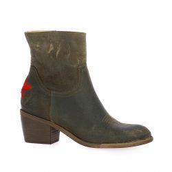 Ngy Boots cuir marron