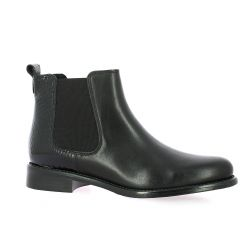We do Boots cuir noir/serpent