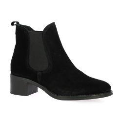 We do Boots cuir velours noir