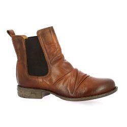 Creator Boots cuir cognac
