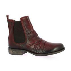 Creator Boots cuir bordeaux