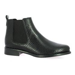 We do Boots cuir serpent noir