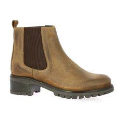 So send Boots cuir nubuck cognac