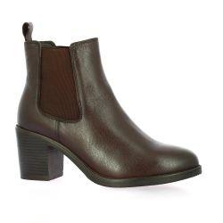 Exit Boots cuir marron