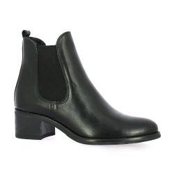 Firenze Boots cuir noir