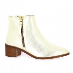 Impact Boots cuir doré