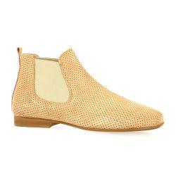 Reqins Boots peau camel
