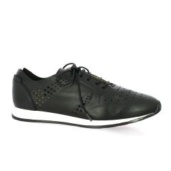 Pao Baskets cuir noir
