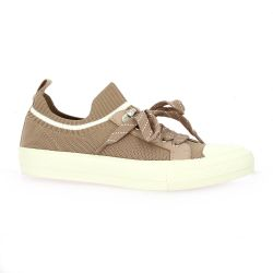 Reqins Baskets toile nude