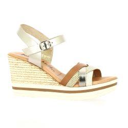 Patricia miller Nu pieds cuir bronze