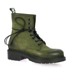 Metisse Boots cuir nubuck kaki