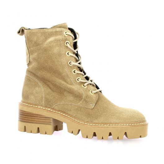 Pao Rangers cuir velours camel