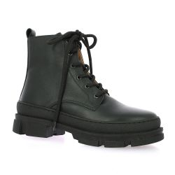 Exit Boots cuir noir