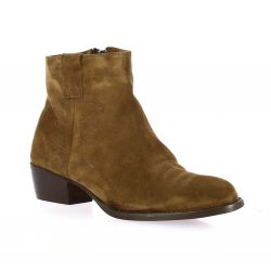 Sms Boots cuir velours camel