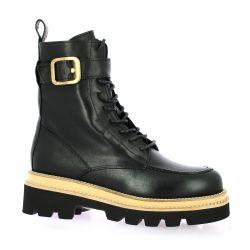 Pao Rangers cuir noir
