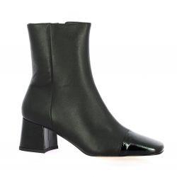 Sofia costa Boots cuir noir