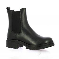 Cf Boots cuir noir