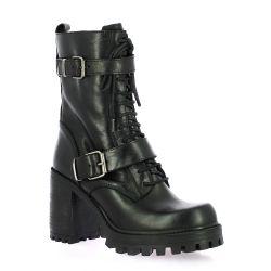 Spaziozero Boots cuir noir