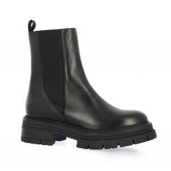 Nuova riviera Boots cuir noir