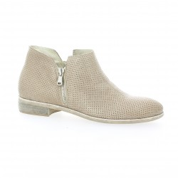Pao Boots cuir taupe
