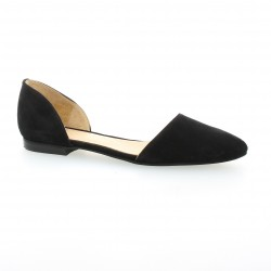 We do Ballerines cuir velours noir